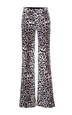 Jacquard Trousers by ROBERTO CAVALLI for Preorder on Moda Operandi