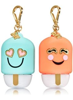 Grace bought us these so cute. Bath and Body Works PocketBac Hand Gel Holder Duo BFF Pop. Bath N Body Works, Bath And Body, Bff, Baby Doll Accessories, Hand Sanitizer Holder, Perfume, Smell Good, Travel Size Products, Body Care