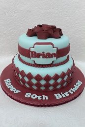 Pin On Adults Birthday Cakes