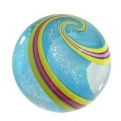 Stardust Pale Blue Hand Made Marble £175 House of Marbles