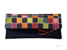 NEW Clutch - Modern colors clutch - www.Becca.es