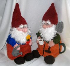 Gnome Tea Cosy and Toy Gnome  KNITTING PATTERN