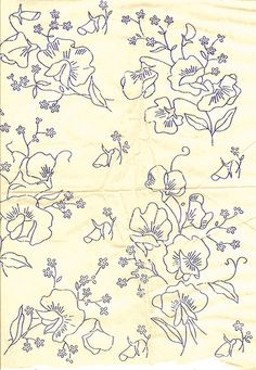 Embroidery Designs, Embroidery Transfers, Hand Embroidery Patterns, Vintage Embroidery, Ribbon Embroidery, Applique Designs, Cross Stitch Embroidery, Cross Stitch Patterns, Machine Embroidery