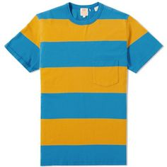 Buy the Levi s Vintage Clothing Casuals Stripe Tee in Yellow from leading  mens fashion retailer END. - only Fast shipping on all latest Levis Vintage  ... 9a7750a07