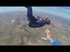 Man suffers seizure while skydiving