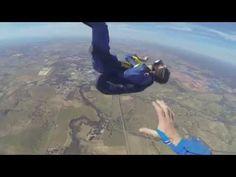 Man has seizure while skydiving, jumping partner saves him