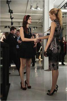 Gossip Girl : foto Blake Lively, Leighton Meester
