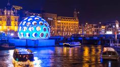 Amsterdam Light Festival time lapse