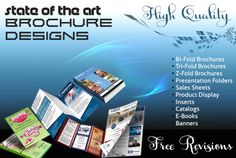design an attractive brochure, Insert or product catalog by activecomputech