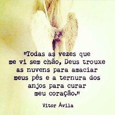 Lindo isso! Do meu querido amigo @vitoravilatextosepoesias  #frases #fé #força #oração #prece
