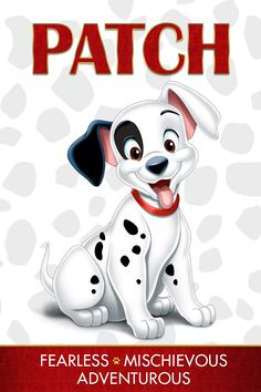 Patch - Fearless, Mischievous and Adventurous. Who is your inner One Hundred and One Dalmatians character? Unleash all the excitement of Disney's beloved classic One Hundred and One Dalmatians, for the first time on Blu-ray and Digital HD on Feb. 10! #ldisneycharacters #disney