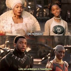 . Who was your favourite character in Black Panther? Shuri