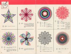 spirograph - I spent so many hours as a kid doing Spirograph - wonder why I love mandala design so much?
