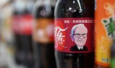 Billionaire Warren Buffett becomes face of Cherry Coke in China   Business   The Guardian