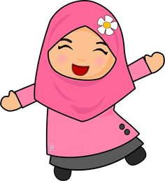 Baby Cartoon Muslim Ideas For 2019 Baby Cartoon, Cute Cartoon, Baby Announcement Pictures, Moslem, Doodle Girl, Succulent Wall Art, Anime Muslim, Hijab Cartoon, Muslim Girls