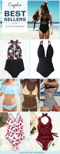 We finally found the bikinis you've been looking for! With their trendy look, exquisite design and the body-hugging fit, you will love showing your curves off! Start your trip with Cupshe swimsuits, and be radiant in a simple way!