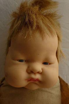 b4d37d0de933 1960 Vogue Baby Dear Doll E. Wilkins Super Cute Pudgy Face As Is For Repair