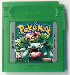 Pokemon Green Version for Game Boy Color (Fan Game) -  A full English translated version of the Japanese game Pokemon Green (Pocket Monsters Midori).    The cartridge is made from a green plastic mold.  It is region free (US, PAL, JAP) and is compatible with the following systems: Game Boy, Game Boy Color (GBC), Game Boy Advance (GBA), Game Boy Advance SP (GBA-SP), Super Game Boy with the SNES, Retron 5 and the RetroFreak console.- Free Shipping!