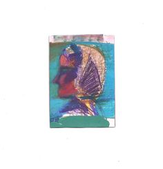 ACEO Young Woman Self Portrait Artist Trading Card