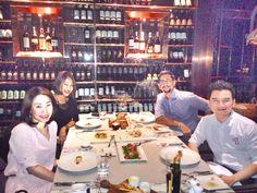 It's a wonderful dinner #HiltonHotels Sukhumvit #Bangkok