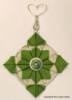"Everyday Artist: Fabric Origami Step-by-Step - ""Fennel"""