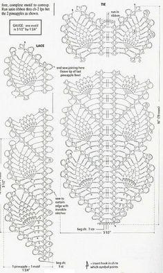 Best 12 Two beautiful decorations Croche with standard – Crochet Designs Free Crochet Borders, Crochet Diagram, Crochet Stitches Patterns, Crochet Chart, Crochet Motif, Crochet Designs, Crochet Doilies, Stitch Patterns, Filet Crochet