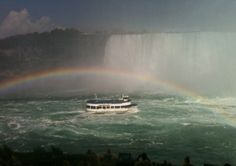 Niagara Falls - Maid of the Mist boat ride. Loved it!  Been there. July2013