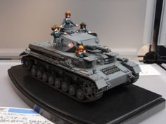 More Girls und Panzer, though where are the rest of the tanks?