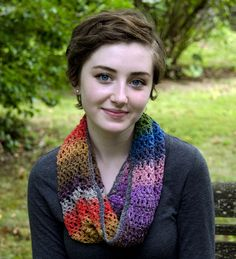 Edie Eckman - EE270 - Easy-to-Wear Cowl (crochet)