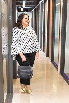 3d7e2860cc863 Plus Size Fashion for Women - Plus Size Work Outfit Idea - The 9 to 5