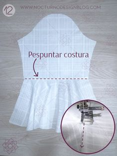 46 Ideas Sewing Ideas For Baby Tips Design Blog, Baby Hacks, Diy And Crafts, White Dress, Sewing, Tips, Dresses, Brother, Fashion