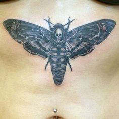 Deaths Head Moth Tattoo Meaning Top death head moth tattoo images for . Moth Tattoo Meaning, Death Head Moth Tattoo, Life Death Tattoo, Saint Tattoo, Deaths Head Moth, Life And Death, Body Modifications, Tattoo Images, Tatoo