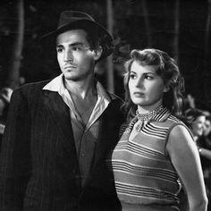Vittorio Gassman e Silvana Mangano, Riso Amaro 1949