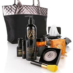 Signature Club A by Adrienne Rapid C Infused Daily Skin Care Kit with Multi-Purpose Powder at HSN.com.
