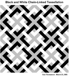 Image detail for -Dan Thomasson looks at tesselations with numerous unexpected shapes traced out by knight moves.