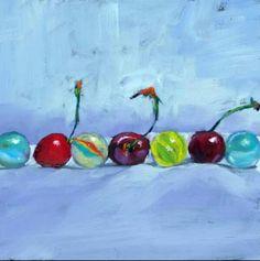 Brenda ferguson Still Life Art, Objects, Mushroom, Paintings, Oil, Artists, Cherries, Drawings, Paint