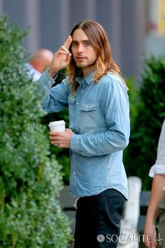 Jared Leto Gives A Wave In New York City
