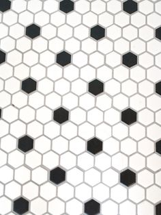 Octagon And Dot Floor Tiles In Color Combinations Home Sweet - 1940s bathroom floor tile