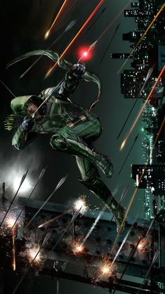 Green Arrow by John Gallagher *