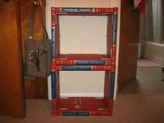 Finally a great use for all those old Encyclopedias people keep throwing away! Books to hold books, brilliant.