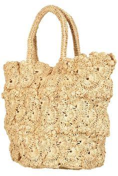 Bolso de crochet de Topshop