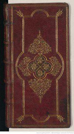 digitized binding - wreaths decorated binder. Paris, BnF, RLR, RES 8- Adler- Z 343 - bnf_label