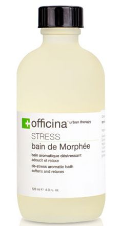 Officina Urban Therapy: Bain de Morphée