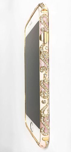 Original Urcover Aluminium Diamond Bumper iPhone 6 rosa roségold . Available in 9 different colors! Get yours now - only 13,90€