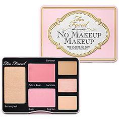 Too Faced - The Secret To No Makeup Makeup  #sephora
