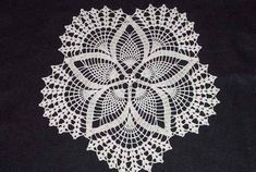 """Image detail for -... exchange. The pattern is from the Leisure Artsleaflet """"Star Doilies"""