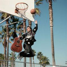 Nils Lofgren, Guitar and Basketball