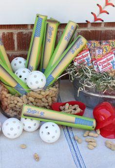 Baseball Themed Birthday Party | Box Play for Kids Baseball Bat Recycling Activity Stickers