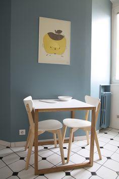 mooi kleur op de muur