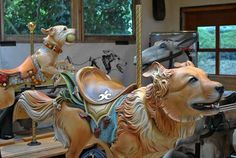 Tim Racer's Carousel Dogs Will Knock Your Socks Off  True works of art!!!!